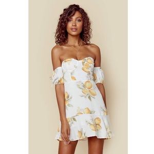For Love and Lemons Limonada Dress